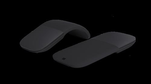 Microsoft Arc Mouse (Black) (1 pc)