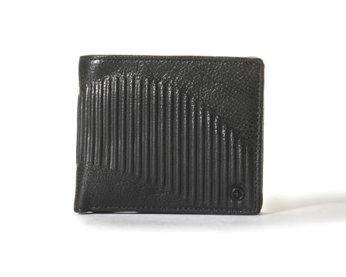 Tough Short Leather Wallet - Black (1pc)