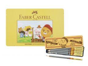 Faber Castell KaKao Friends set: Water Soluable Colour Pencils (36 pcs) plus Ryan Edition Pencils (6 pcs)