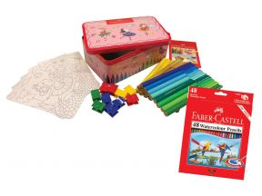 [Easter 2020] Faber Castell Ballerina Musical Box Kids Color Set (1 set)