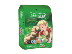PETSSION - Turkey & Duck for Dog 15 lbs (1 bag)
