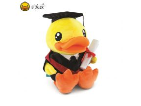 B.Duck Graduation Plush (23cm) (1 pc)