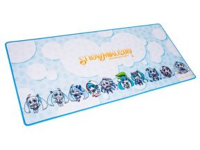 Ttesports Dasher Extended Snow Miku Edition Mouse Pad (1 pc)