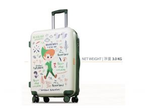 Peter Pan - PC case 4 wheels luggage PP1010T (1 pc)