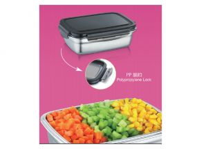 TUXTON - Stainless Steel Bento Storage Container (850 ml) (1 pc)