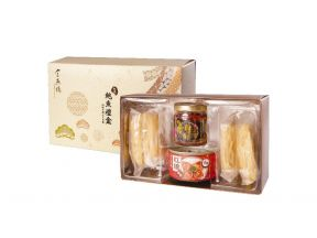 [CNY 2020] Imperial Bird's Nest Prestige Abalone in Braised Sauce, Shrimp Roe Noodles and Scallops Relish Gift Box (1 box)