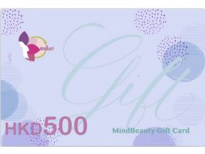MindBeauty Gift Card HK$500 (1 pc)