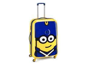 Delsey 30 inch Minions Luggage (Special Edition) + Hinoki Life Marvel Clean Antibacterial Disinfecting Spray 500ml (1 set)