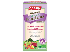 CATALO Women's Whole Foods Nutrients Formula (60 Capsules)