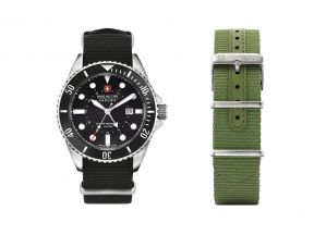 """Swiss Military """"Sea Lion X"""" Gents Watch with a Free Strap (1 set)"""