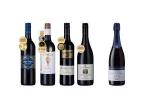 4-bottle Awarded Australian Black Reds Case Plus 1 FREE Sparkling Red (1 set)