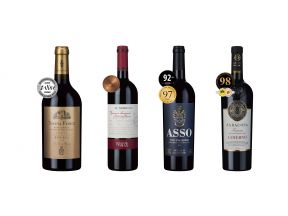 4-bottle Awarded Italian Reds Case (1 set)