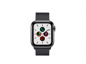 Apple Watch Series 5 (GPS+Cellular) 40mm Stainless Steel Case with Milanese Loop (1 pc)