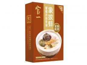 Guan Yi Pork Soup with Geoduck & Sea Conch (400g) (1pc)