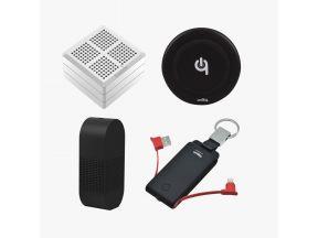 4 in 1 Travel Kit (Washwow Magic Cube, Flextailgear Atmos Pump, Unity 3 in 1 Power Bank, Unity Key Chain Power Bank) (1 pc)