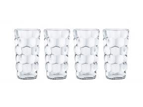 Nachtmann Crystal Bubbles Soft Drink Tumbler (1 Set of 4)