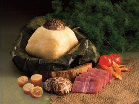 Super Star Glutinous Rice Dumpling with Supreme Chinese Jinhua Ham & Conpoy (1pc)