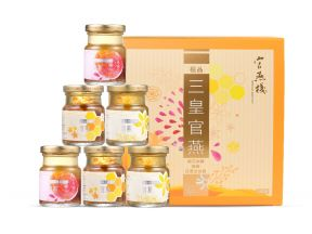 Imperial Bird's Nest Imperial Royal Bird's Nest with Osmanthus Fragrans & Rock Sugar, Honey, Dried Jujube (70g) (6 Bottles)