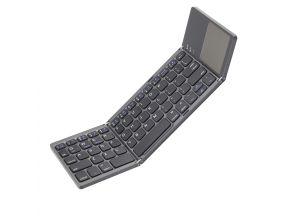 ATN A80 Folding Bluetooth Keyboard (Gray) (1 pc)