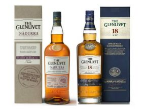 The Glenlivet Nadurra Oloroso Cask Strength Single Malt Whisky + The Glenlivet 18 Year Old Single Malt Whisky (1 set)