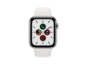 Apple Watch Series 5 (GPS+Cellular) 44mm Stainless Steel Case with Sport Band (1 pc)