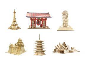 JIGZLE 3D PLYWOOD PUZZLE - Architecture (1 pc)