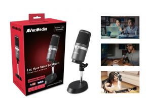 AVerMedia AM310 High Quality USB Condenser Microphone (1pc)