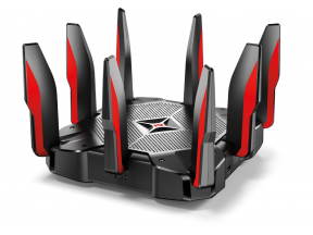 TP-Link Archer AX11000 Tri-Band 802.11ax Wi-Fi 6 2.5G Gaming Router (1 pc)