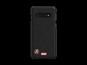 Samsung Galaxy S10 Avengers Logo Smart Cover Black (1 pc)