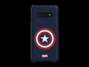 Samsung Galaxy S10+ Captain America Smart Cover Blue (1 pc)