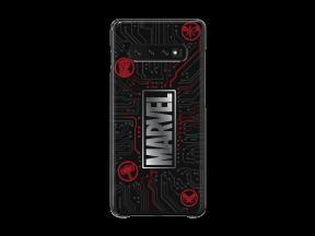 Samsung Galaxy S10+ Marvel Small Logo Smart Cover Black (1 pc)