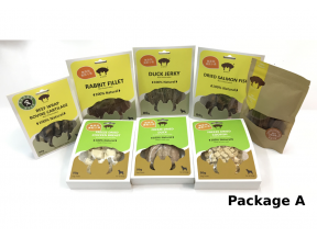 Biopet Air Dried and Freeze Dried Pet Treat Package (1 set)