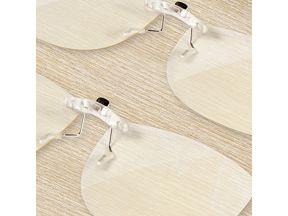 Deutschmacht Bluelight Clip On Glasses (1 pc)