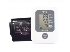 OTO Arm-type Blood Pressure Meter (Model No.: BP-1100P) (1pc)