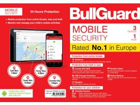 Bullguard Mobile Secuirty - 3 Devices for 1 Year (1 pc)