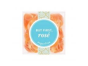 Sugarfina® But First, Rosé (Roses) – Small Cube (115g) (1 box)