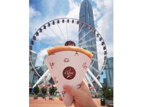 Café Crepe Salami and Mozzerlla Crepe (1 pc) (Take Away Only)