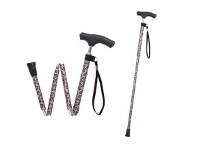 Silver Solutions Foldable Walking Cane (1 pc)