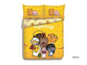 CASABLANCA - Kakao Friends Fillted Sheet and Pillow Case Set #KK001 (1 set)