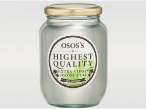 OSOS'S Extra Virgin Coconut Oil - Cold Press (1pc)