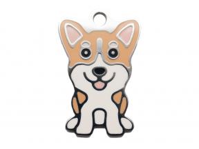 Thérèse Tags Corgi Dog Tag (Small) (1 pc)