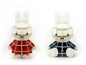 JIGZLE 3D PAPER PUZZLE - Miffy (1 pc)