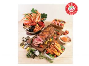 """Cordis, Hong Kong - The Place """"Land and Sea Fiesta"""" Dinner Buffet (1 person)"""