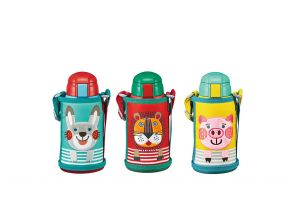 TIGER -  Kids Two-way Stainless Steel Thermal Bottle (0.6L) (1 pc)