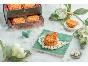 InterContinental Hong Kong Yan Toh Heen Lotus Seed Paste and Double Salty Egg Yolk Mooncakes (1 box)