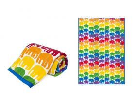 Finlayson™ - Elefantti Double Sided Flannel Blanket #FH025 (1pc)