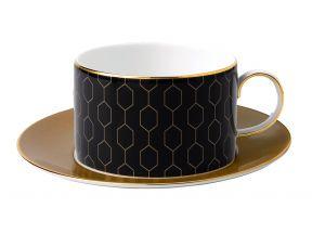 Wedgwood Arris Teacup and Saucer (1 Set)