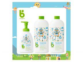 Babyganics - Dish and Bottle Soap Combo Set (Fragrance Free) (1 Set)