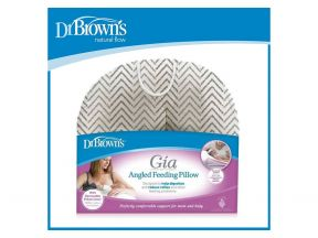 Dr Brown's Gia Angled Feeding Pillow with Cotton Cover (1 pc)