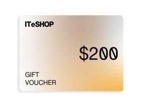 ITeSHOP HK$200 eVoucher (1 pc)